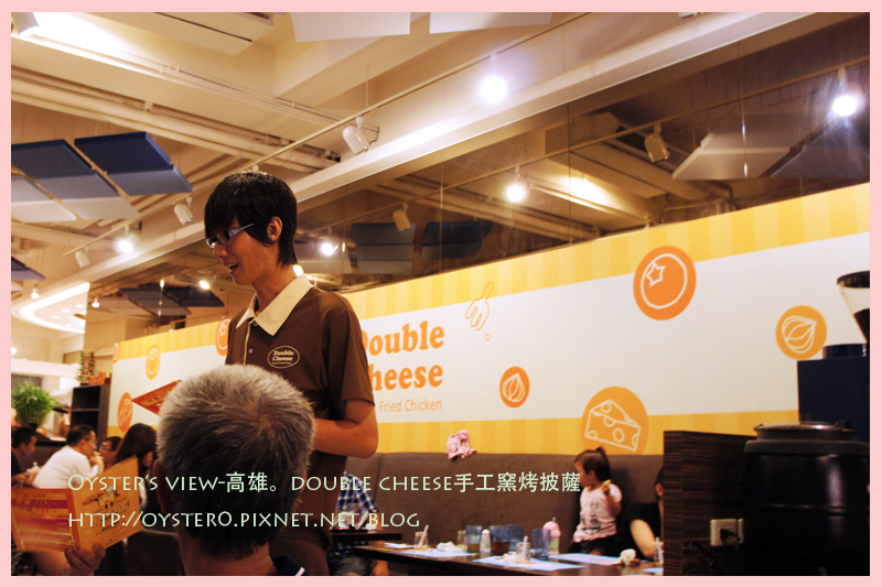 Oyster's view-高雄。double cheese手工窯烤披薩6.jpg