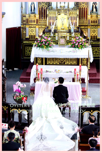 Oyster's view-ㄚ良小諭天主教教堂婚禮21.jpg