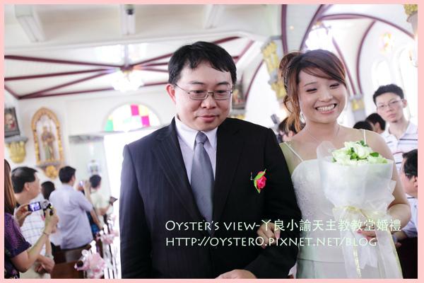 Oyster's view-ㄚ良小諭天主教教堂婚禮6.jpg