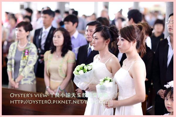 Oyster's view-ㄚ良小諭天主教教堂婚禮18.jpg