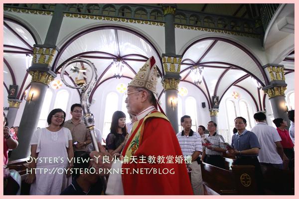 Oyster's view-ㄚ良小諭天主教教堂婚禮2.jpg