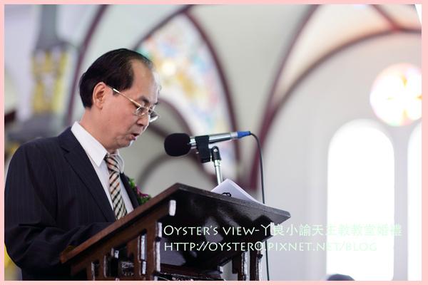 Oyster's view-ㄚ良小諭天主教教堂婚禮17.jpg