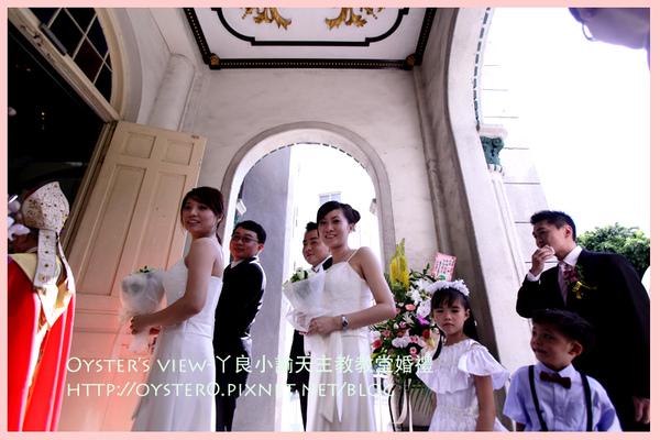 Oyster's view-ㄚ良小諭天主教教堂婚禮4.jpg