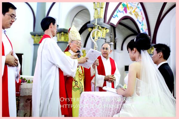 Oyster's view-ㄚ良小諭天主教教堂婚禮41.jpg
