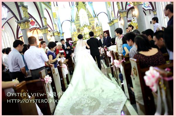 Oyster's view-ㄚ良小諭天主教教堂婚禮51.jpg
