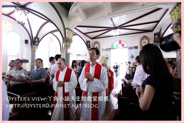 Oyster's view-ㄚ良小諭天主教教堂婚禮3.jpg