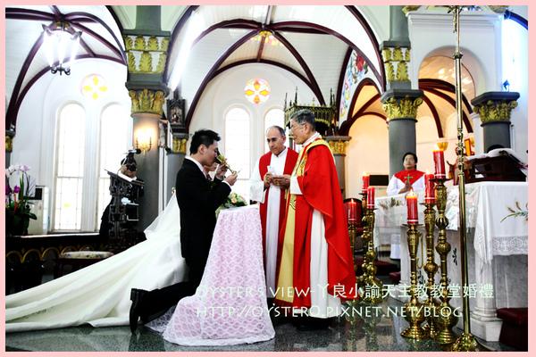 Oyster's view-ㄚ良小諭天主教教堂婚禮32.jpg
