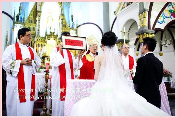 Oyster's view-ㄚ良小諭天主教教堂婚禮36.jpg