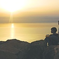 Sunset at Dead Sea 1