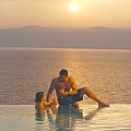 Sunset at Dead Sea 2