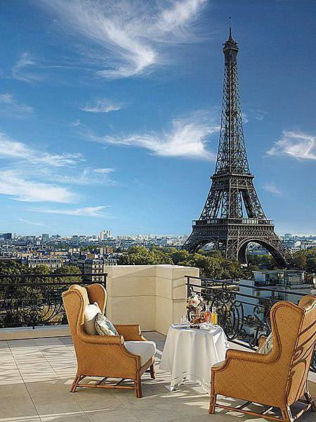 Shangri-La Hotel, Paris(Chaillot Suite1