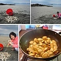 Riwaka River Cottage (10分鐘即達的這片海灘, 滿地的蛤蠣, 海瓜子, 孔雀蛤,.jpg
