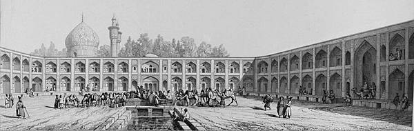 Caravanserai_of_mother_of_Shah_Sultan_Hussein_by_Pascal_Coste.jpg
