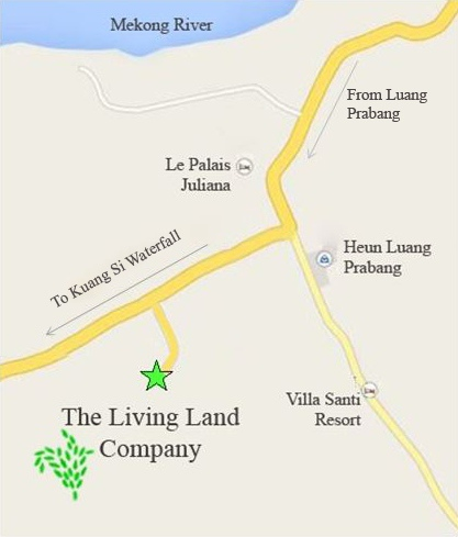 Living land farm (map