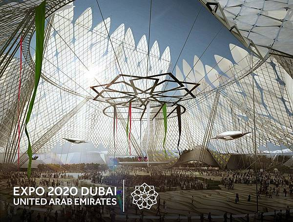 Three zone areas(designated for our themes,Sustainability, Mobility, Opportunity )(e Al Wasl Plaza.jpg