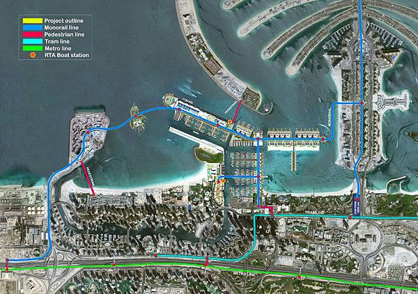 Dubai Harbour(Plan1
