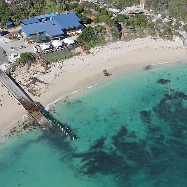 White Elephant Beach Cafe(Marget River;Ariel view