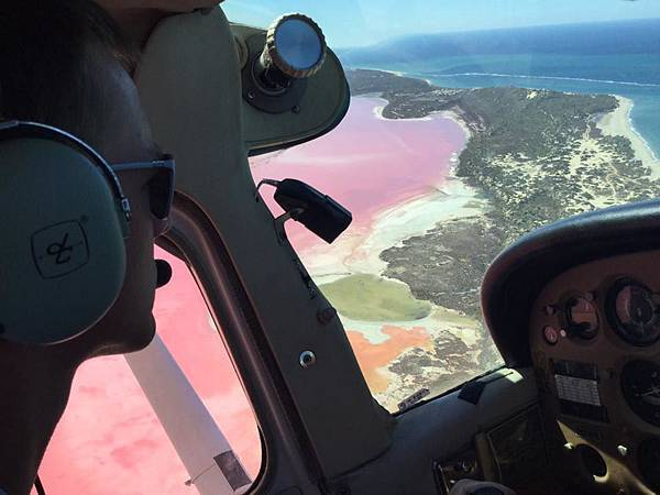 pink lake(flight4