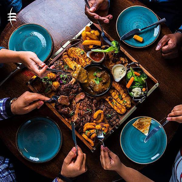 Tribes(dubai Mall Sharing Platter! Chicken, Meat and Fish, a.jpg