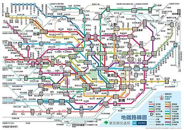 東京地鐵路線