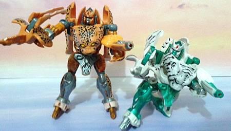 BEAST WARS---Cheetor&Tigatron