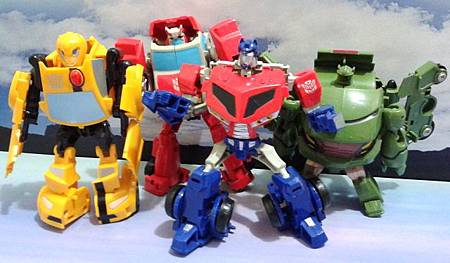 Transformers Animated---Autobots