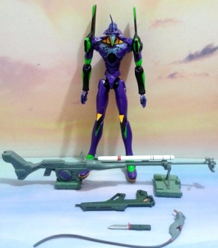 新世紀福音戰士REAL MODEL系列---EVA-01 初號機