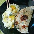 高麗菜+南瓜+旺來+迷迭香+百里香 、配上三星衝衝餅