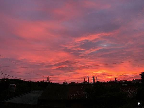 夕陽之美,鄉野漫遊隨拍
