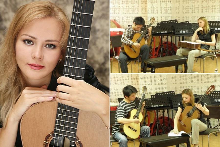 118 Ekaterina Pushkarenko 葉卡捷琳娜.普熙卡倫 1984年 俄羅斯吉他家05