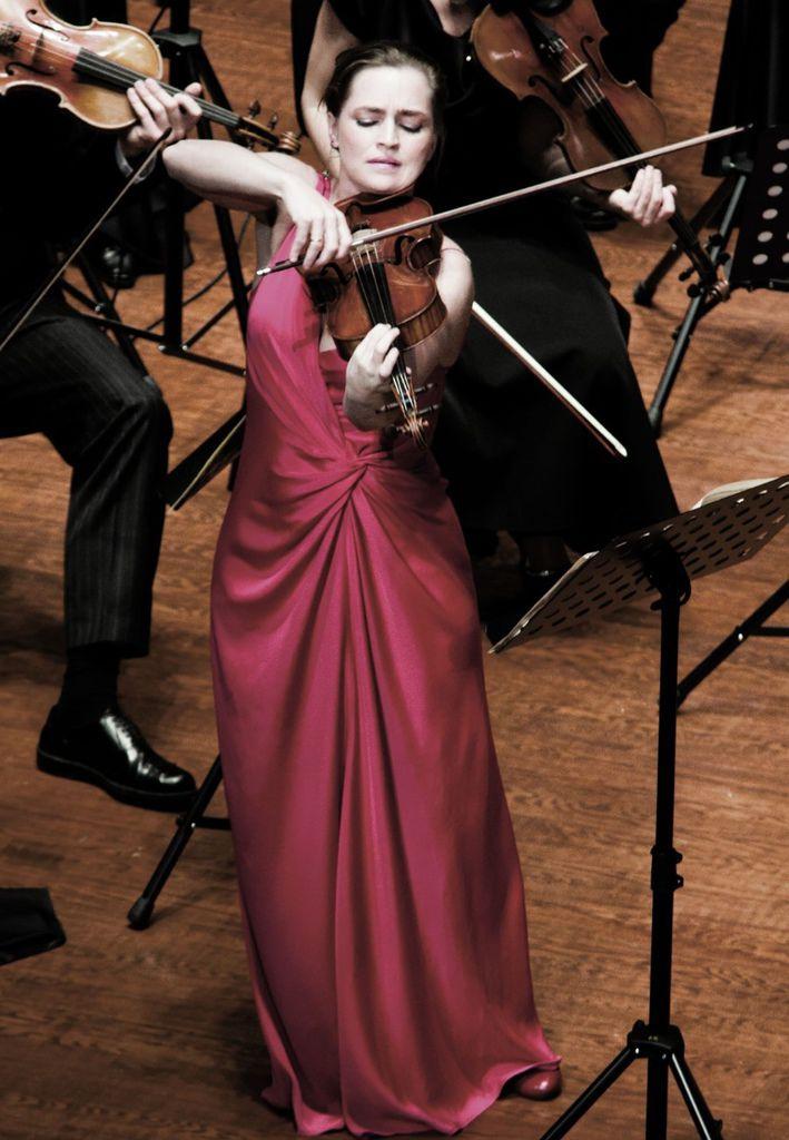 504 Katalin Kokas  卡塔琳.科考什 1978年 匈牙利小提琴家01