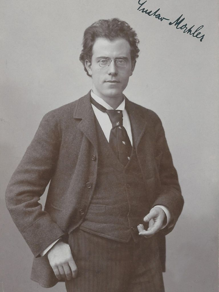 196 Gustav Mahler 古斯塔夫.馬勒 (1860年-1911年) 奧地利作曲家、指揮家04