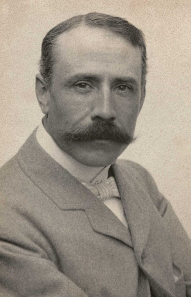 197 Edward Elgar 愛德華.埃爾加 (1857年-1934年) 英國作曲家01