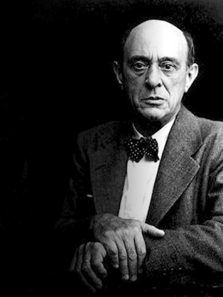 198 Arnold Schoenberg 阿諾德.勳伯格 (1874年-1951年) 美籍奧地利作曲家、畫家04