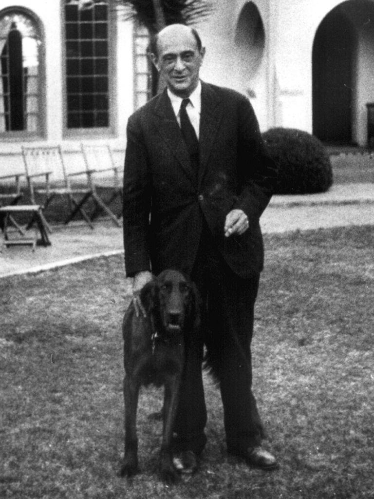 198 Arnold Schoenberg 阿諾德.勳伯格 (1874年-1951年) 美籍奧地利作曲家、畫家05