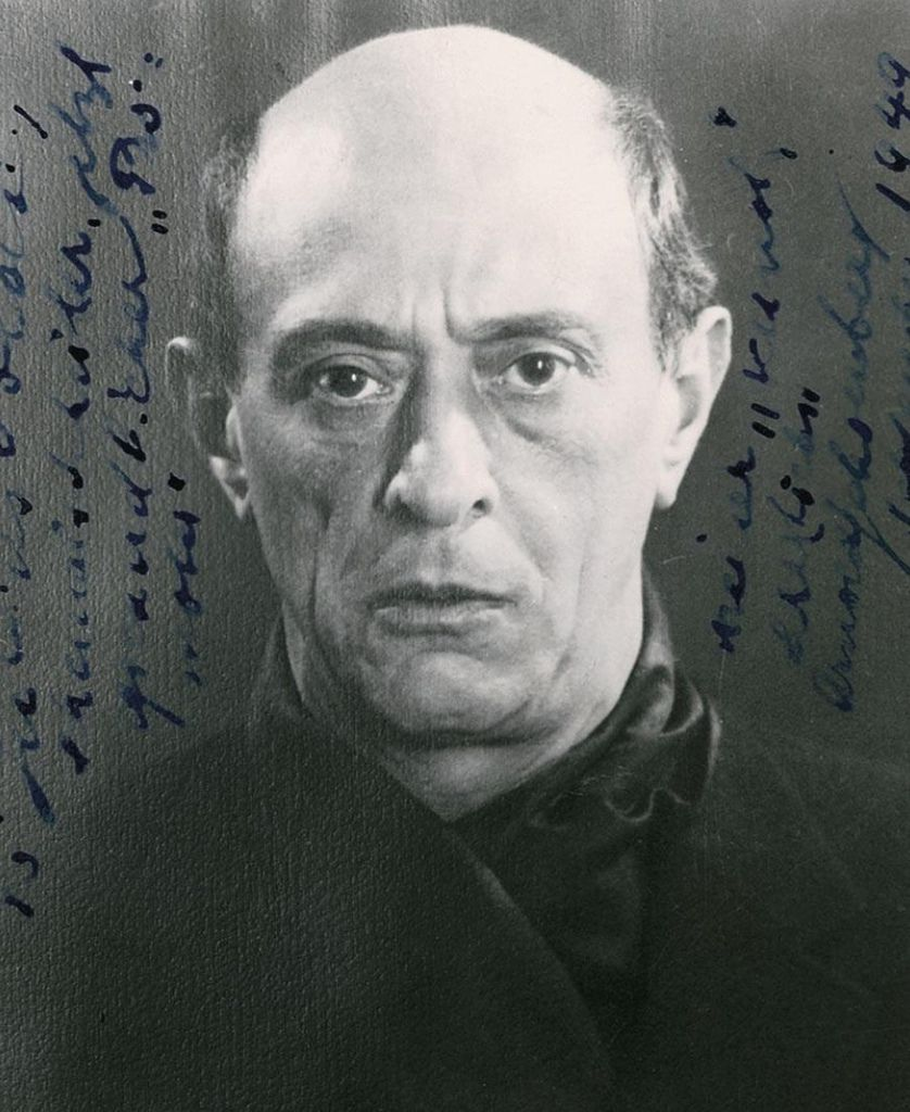 198 Arnold Schoenberg 阿諾德.勳伯格 (1874年-1951年) 美籍奧地利作曲家、畫家02