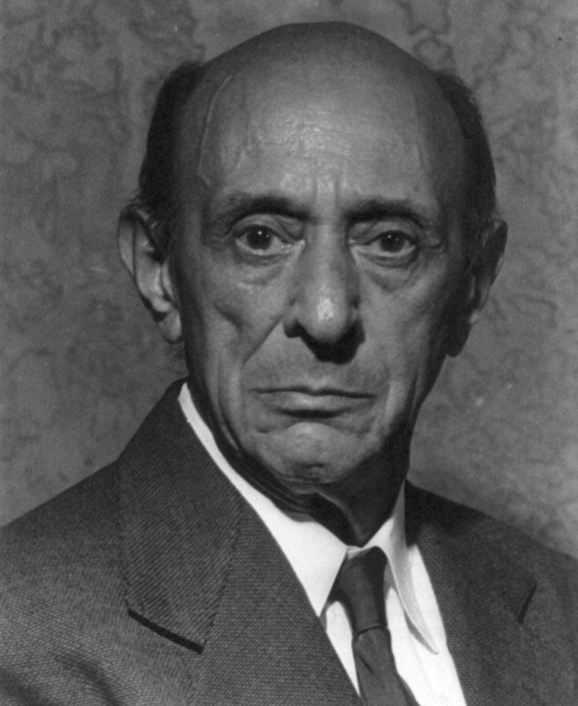 198 Arnold Schoenberg 阿諾德.勳伯格 (1874年-1951年) 美籍奧地利作曲家、畫家01