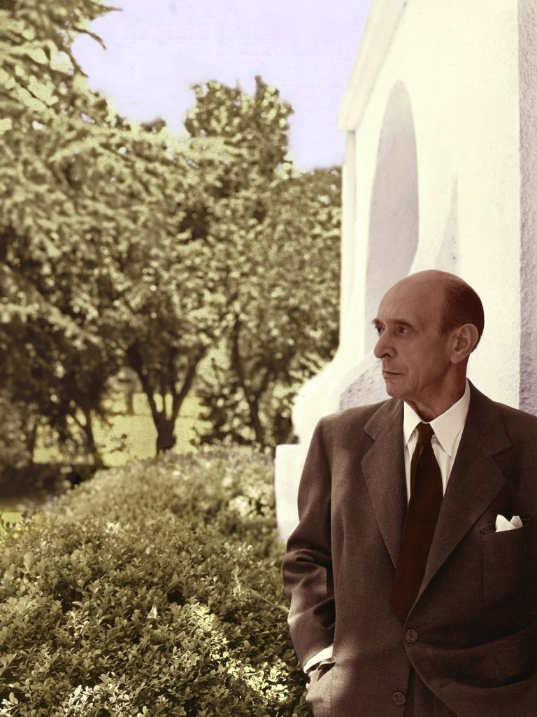198 Arnold Schoenberg 阿諾德.勳伯格 (1874年-1951年) 美籍奧地利作曲家、畫家06