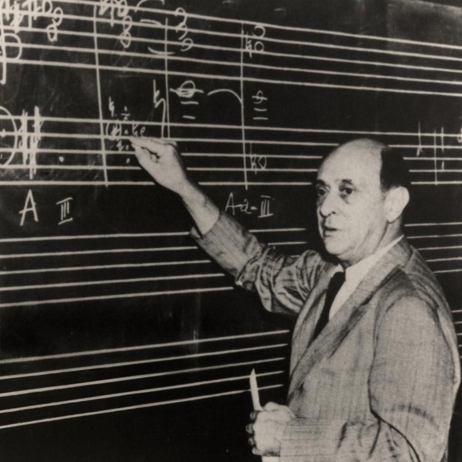 198 Arnold Schoenberg 阿諾德.勳伯格 (1874年-1951年) 美籍奧地利作曲家、畫家07