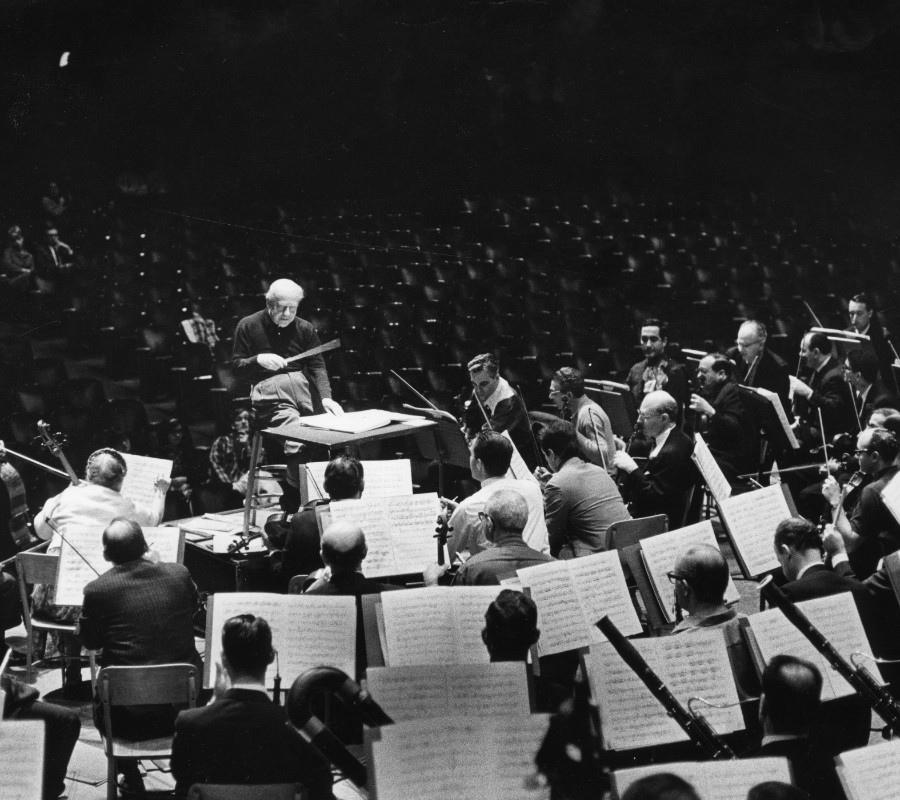 199  Engene Ormandy 尤金.奧曼迪 (1899年-1985年) 匈牙利裔美國指揮家、小提琴家11