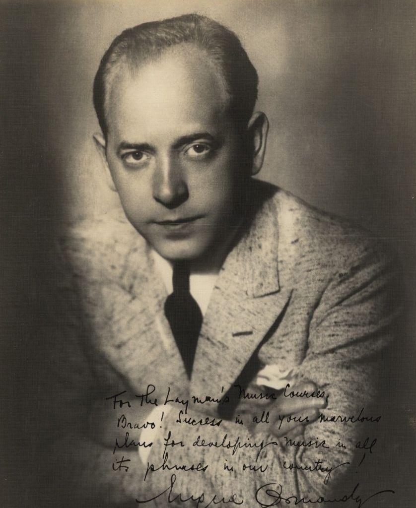 199  Engene Ormandy 尤金.奧曼迪 (1899年-1985年) 匈牙利裔美國指揮家、小提琴家01