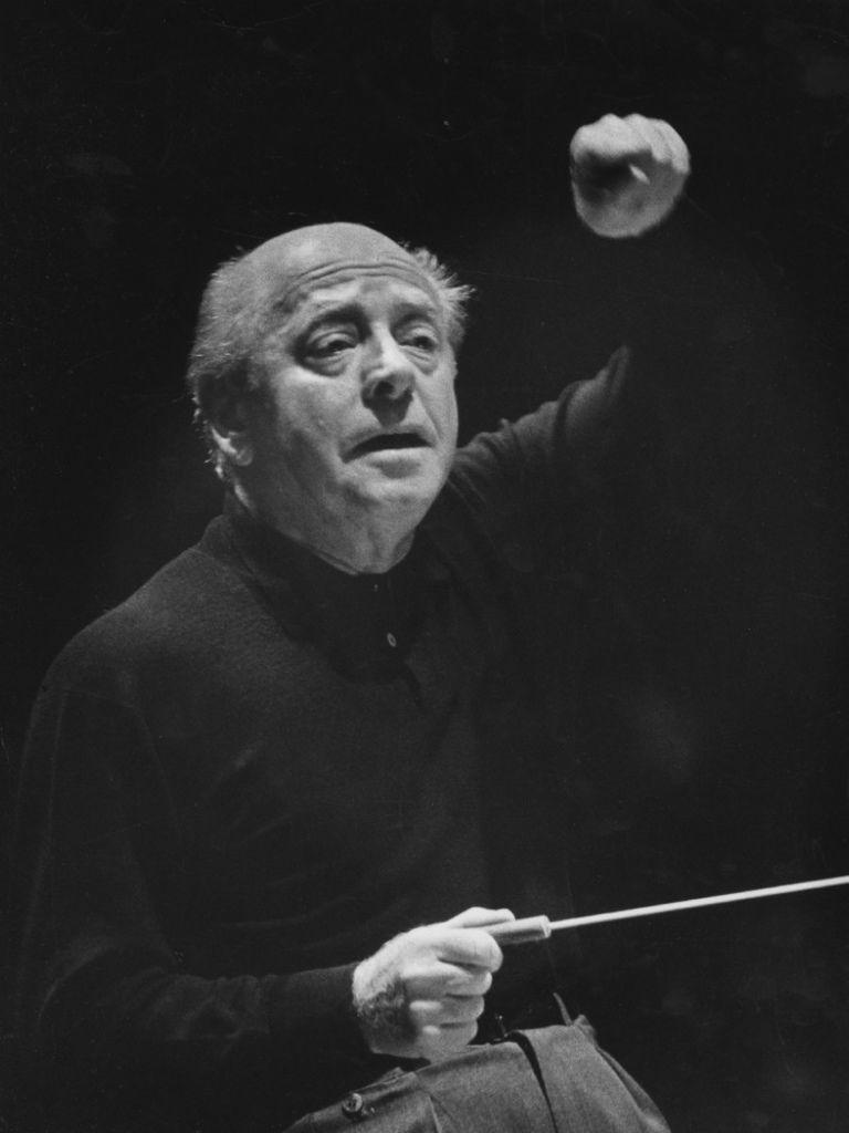 199  Engene Ormandy 尤金.奧曼迪 (1899年-1985年) 匈牙利裔美國指揮家、小提琴家09
