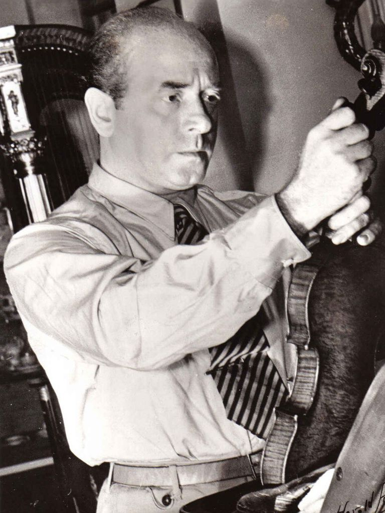 199  Engene Ormandy 尤金.奧曼迪 (1899年-1985年) 匈牙利裔美國指揮家、小提琴家03