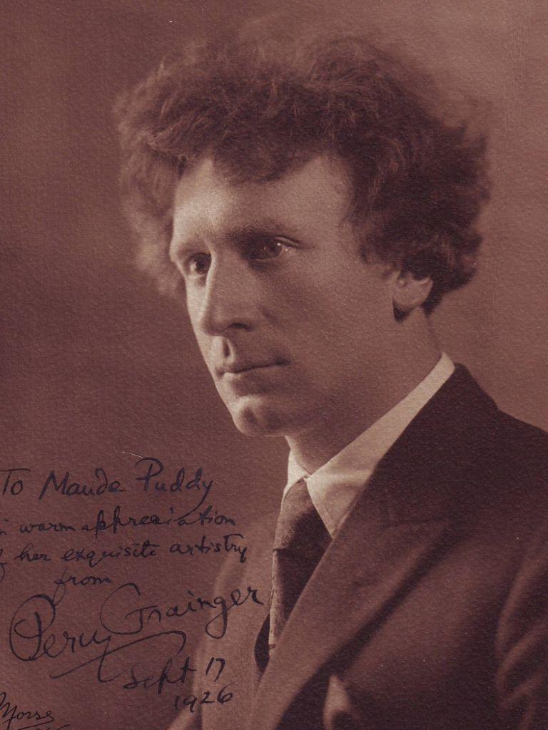 687 Percy Grainger 珀西.格蘭傑 (1882年-1961年) 澳大利亞作曲家、編曲家、鋼琴家13