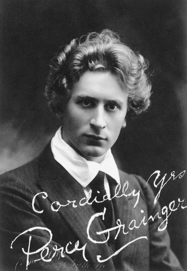 687 Percy Grainger 珀西.格蘭傑 (1882年-1961年) 澳大利亞作曲家、編曲家、鋼琴家16