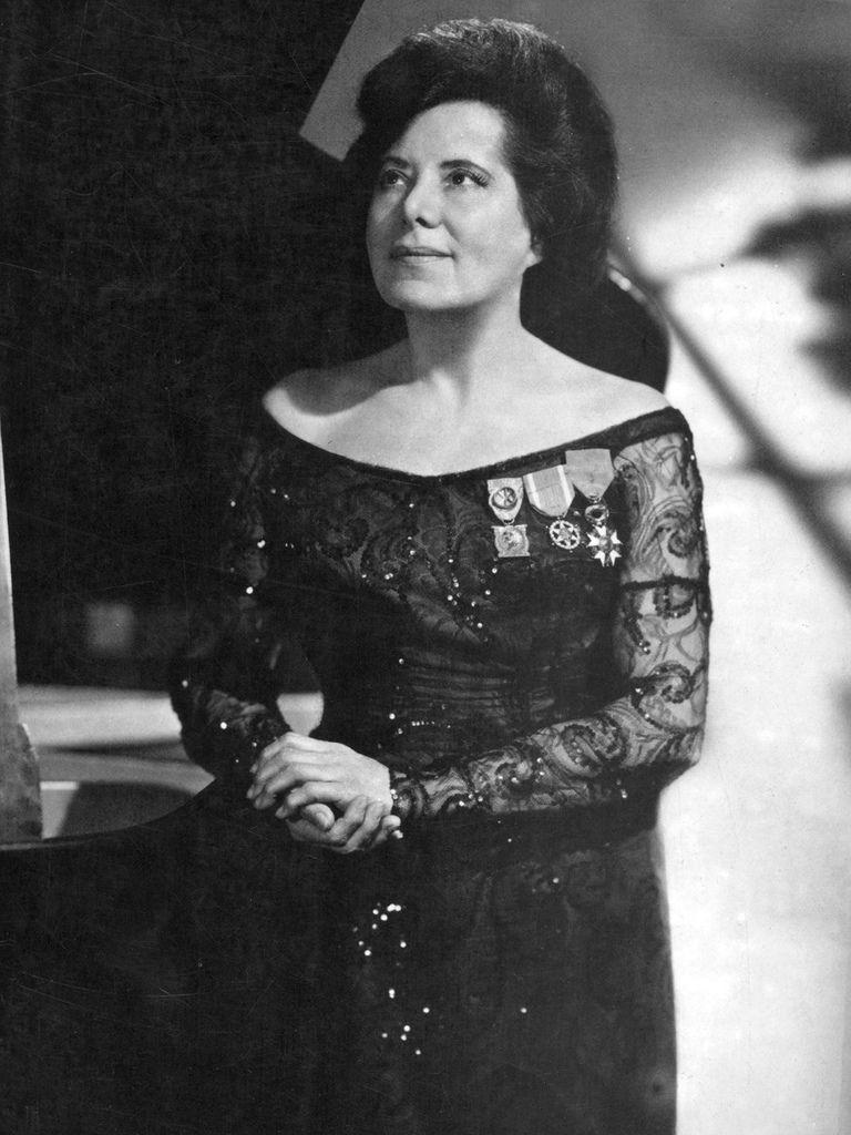 692 Guiomar Novaes 古伊奧瑪爾.諾華伊絲(1895年-1979年) 巴西鋼琴家03