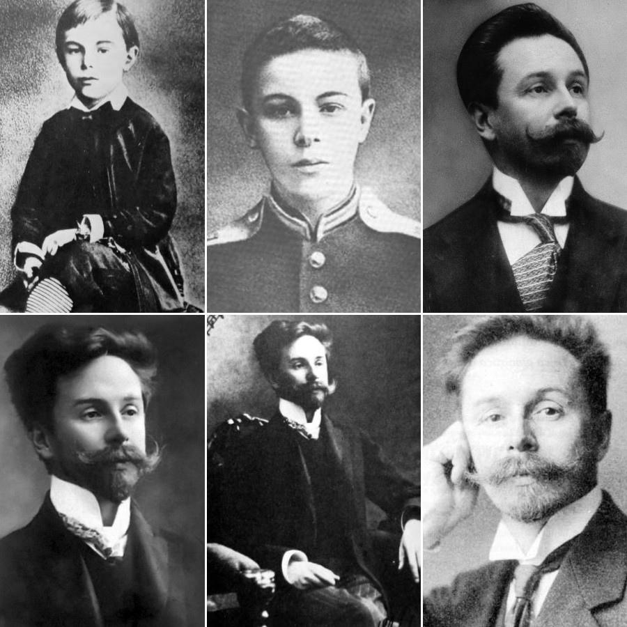 693 Alexander Scriabin 亞歷山大.史克里亞賓 (1872年-1915年) 俄國作曲家、鋼琴家03