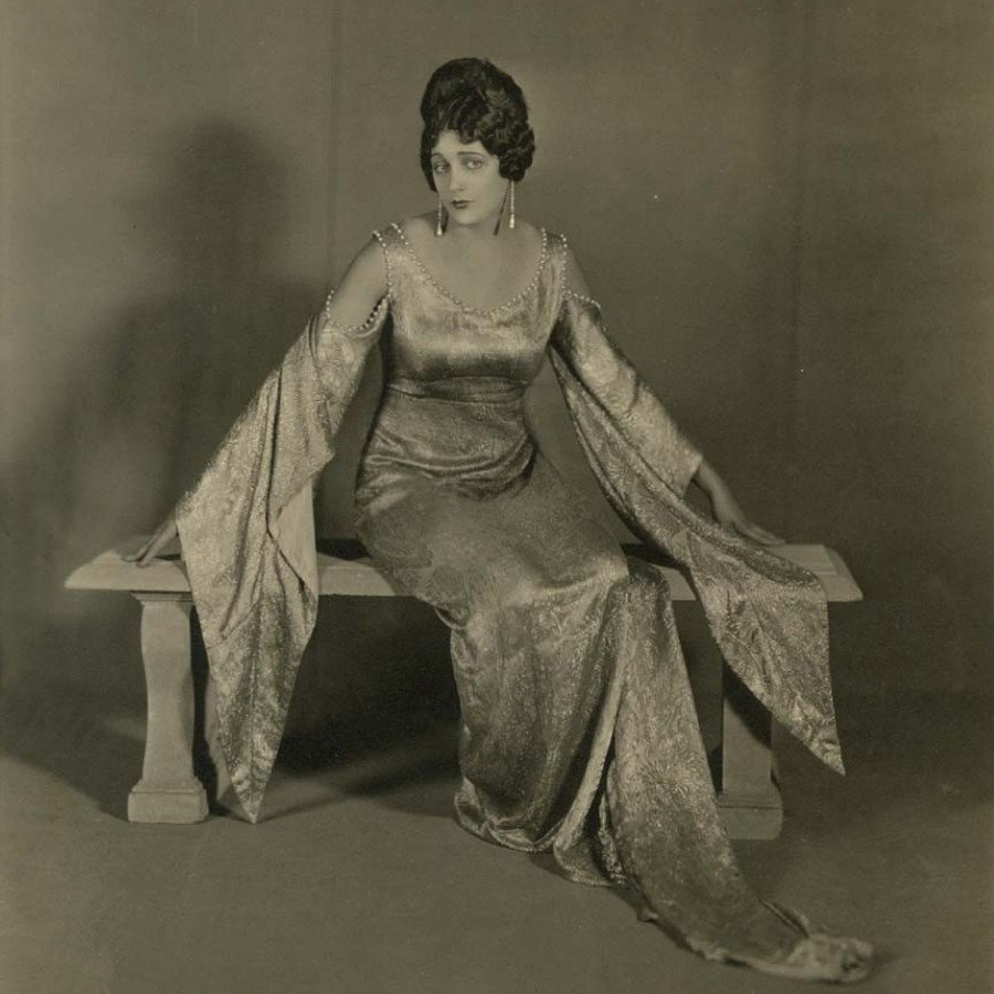 371 Barbara La Marr 芭芭拉.拉.瑪 (1896年-1926年 美國演員、編劇)08