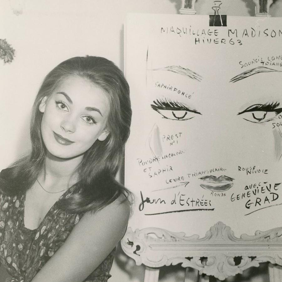 388 Genevieve Grad 吉納維夫.桂 (1944年 法國演員)02