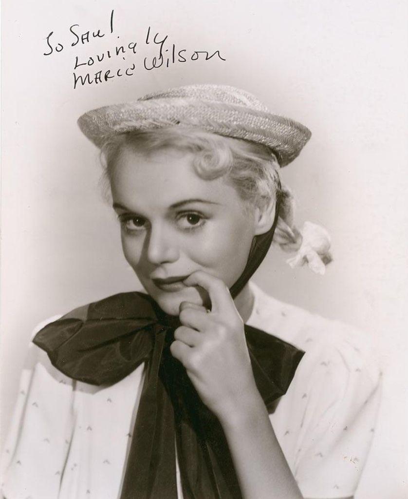 423 Marie Wilson 瑪麗.威爾遜 ( 1916年-1972年 美國廣播、電影、電視演員)01